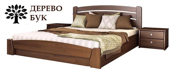 Кровать дерево бук