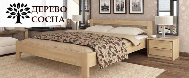 Кровать дерево сосна