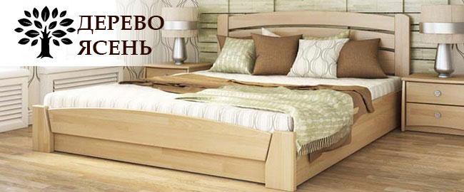 Кровать дерево ясень
