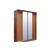 Шкафы-купе с алюминиевым профилем