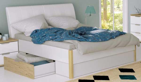 выдвижные ящики кровати