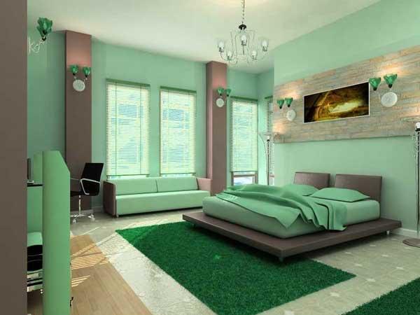 кровать под массивными предметами