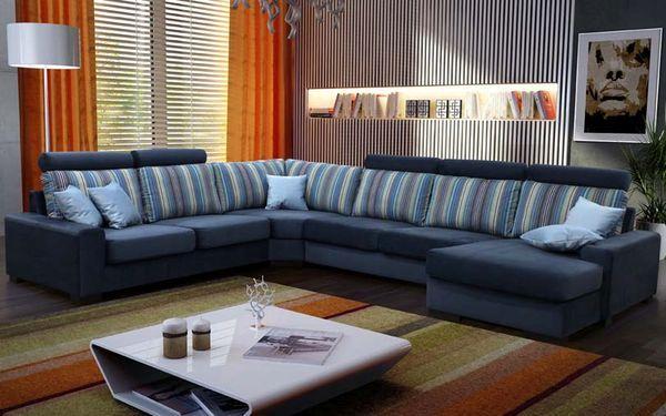 угловой диван в интерьере советы от Sofinoua