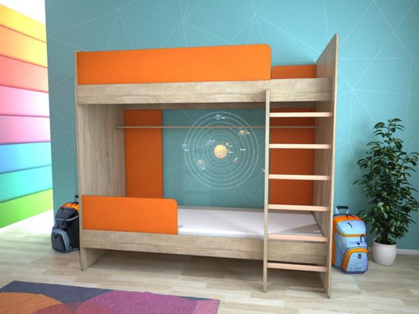Яке ліжко краще вибрати для двох дітей: популярні моделі