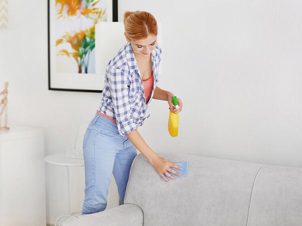 Як прибрати з дивана неприємний запах: очищення підручними засобами