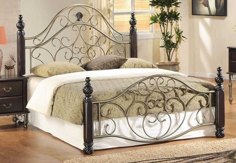 Металлические кровати фото цена