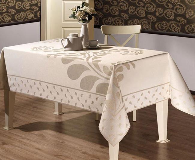 Скатерть на стол: лен или хлопок