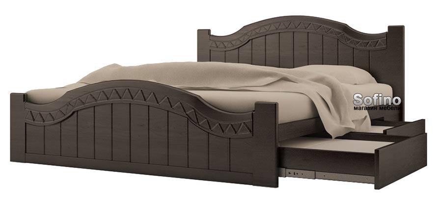 Использование кроватей с выдвижными ящиками в интерьере