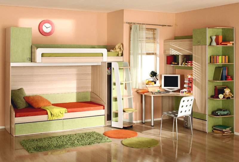 Куда поставить детскую кровать