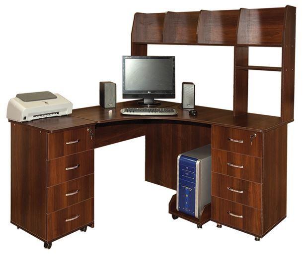 О функциональности угловых компьютерных столов