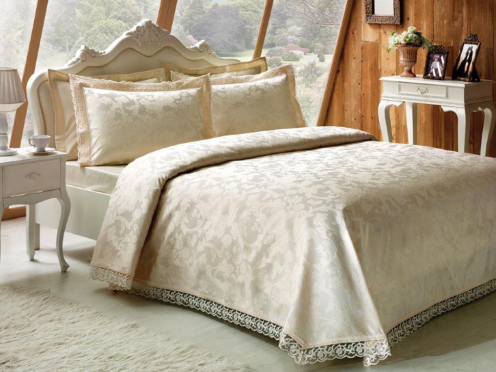 Из чего изготавливают покрывала для кроватей