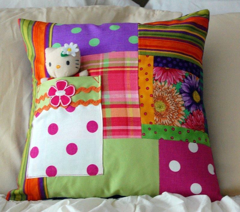 Подушки для детей своими руками пэчворк
