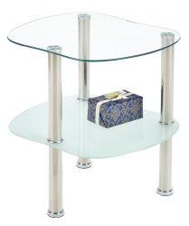 Стеклянный журнальный столик – эстетика высшей пробы