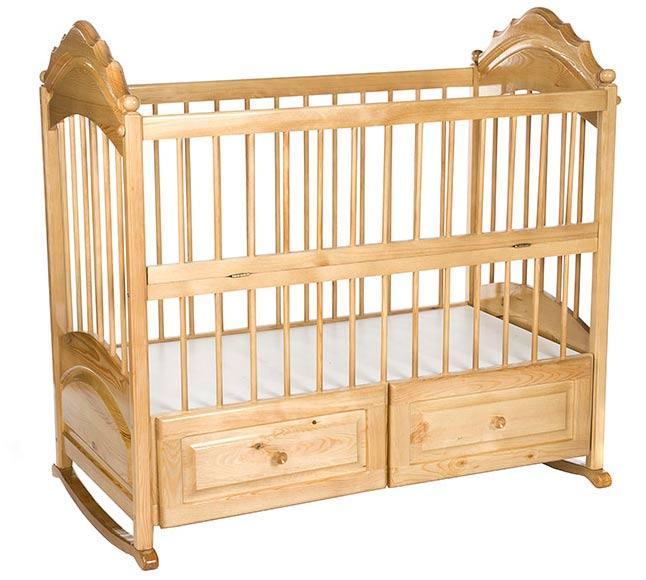 Нужны ли ящички в детских кроватках