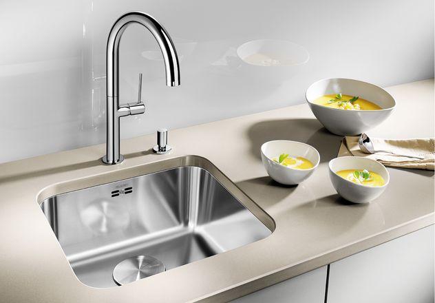 Разновидность установки для кухонных моек