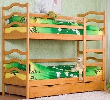 Покупка детской двухъярусной кровати