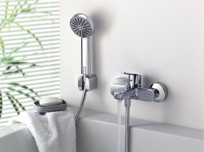 Как можно установить смесители для ванной