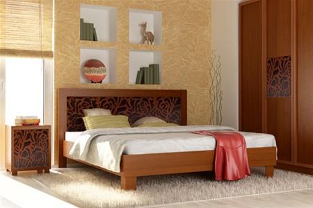 Кровать из натурального дерева: прочно и надежно