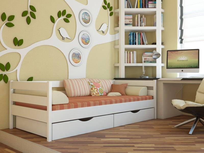 Кровати детские деревянные