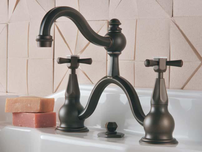 Преимущества двухвентильного смесителя для ванной комнаты