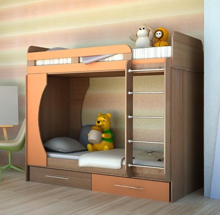 Отличные двухъярусные кровати-трансформеры