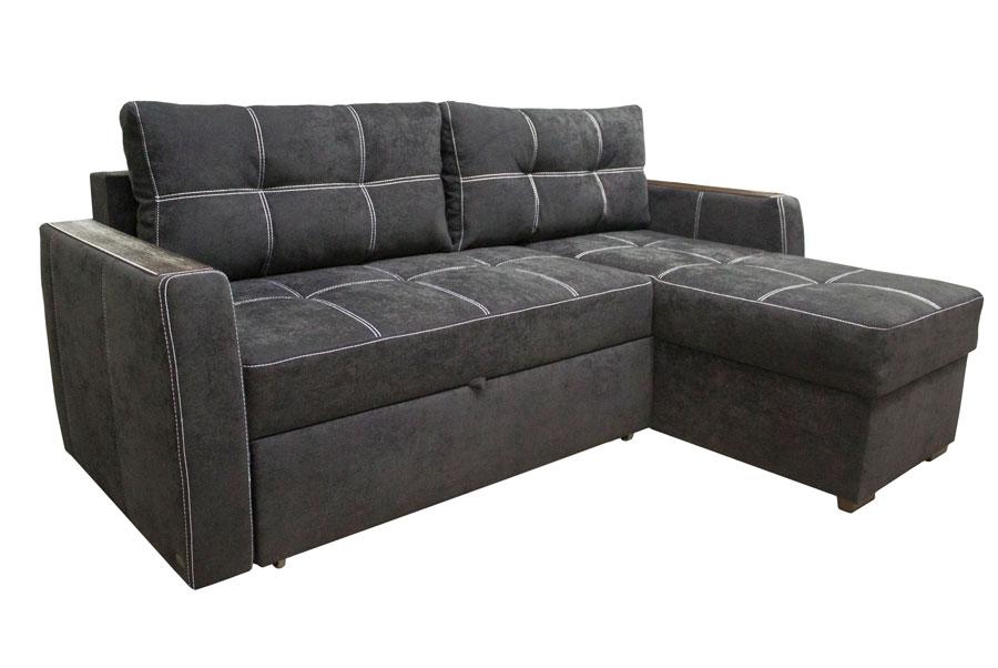 Угловой раскладной диван для всей семьи