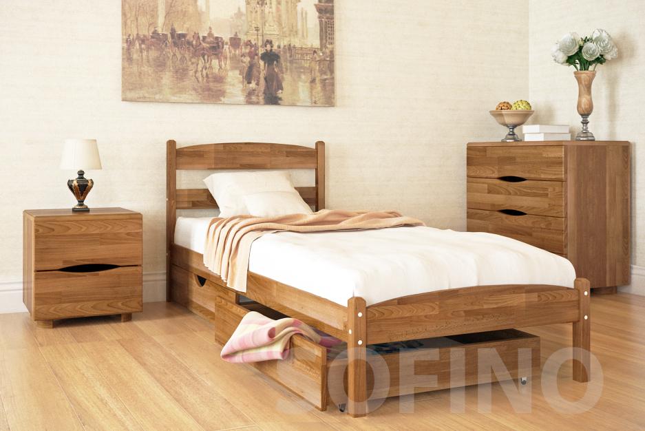 Односпальная кровать – экономно и практично