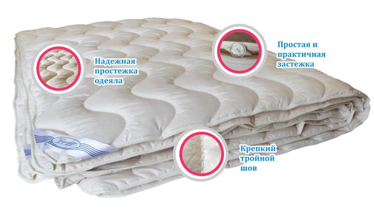Натуральное или синтетическое одеяло. Что выбрать