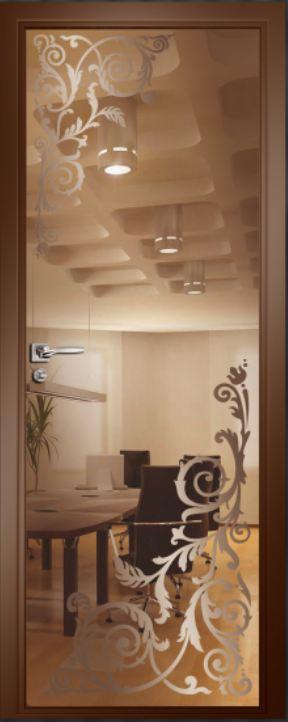 Стеклянные двери – красиво и практично