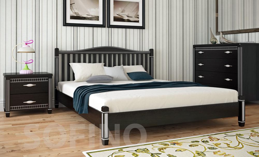 Деревянная кровать в популярных интерьерах