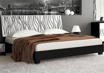 Кровати из МДФ в интерьере