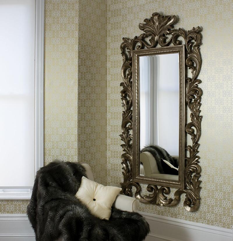 Выбираем зеркало в комнату – форма имеет значение
