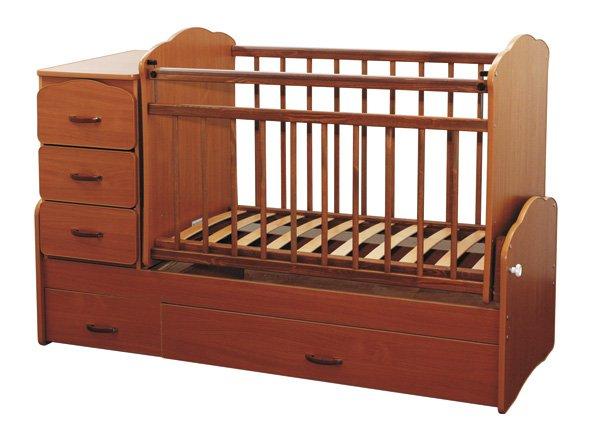 Из чего изготавливают кроватки для новорожденных
