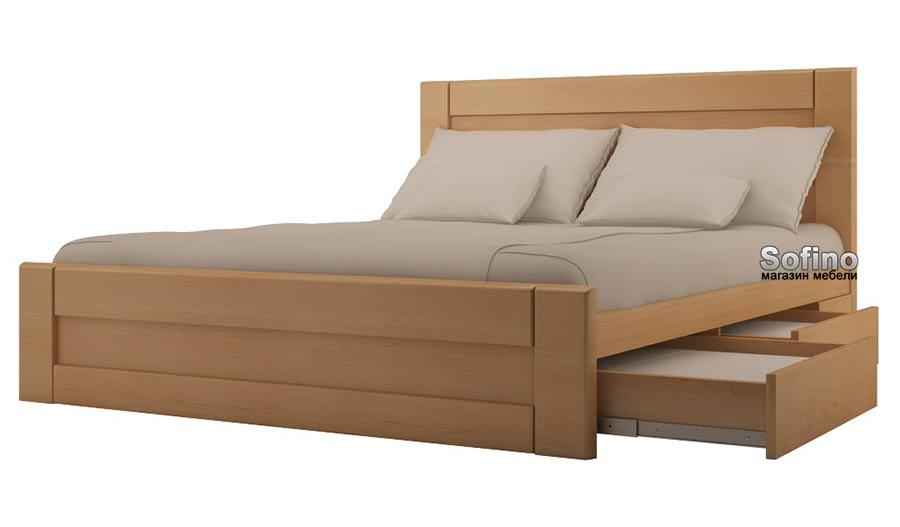 Удобство кровати с ящиками