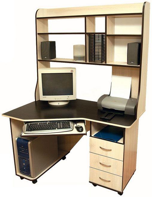Компьютерный угловой стол для дома