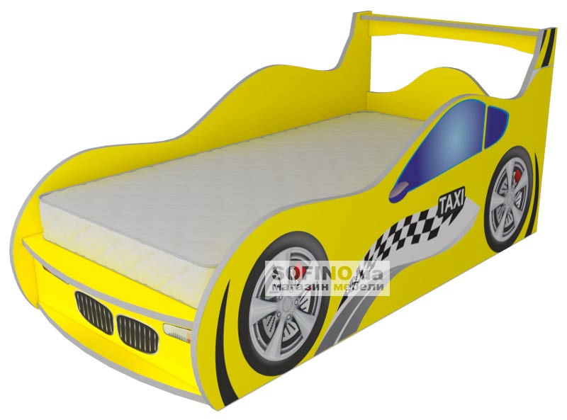 Выбираем кровать-машинку с ребенком вместе
