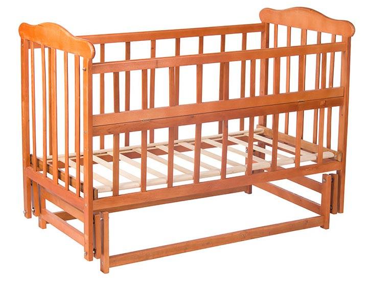 Маятниковый механизм укачивания в детских кроватках