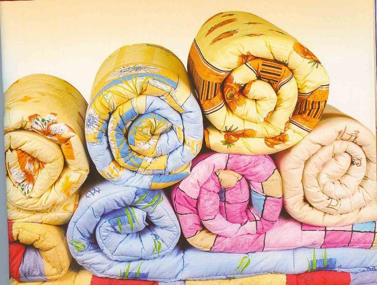 Одеяла - источник тепла в холодную пору времени!