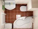 Готовые ванные комнаты