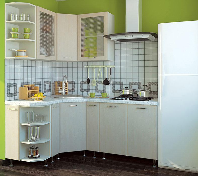 Кухня угловая «София В-1» фасад Градо цвет цинамон