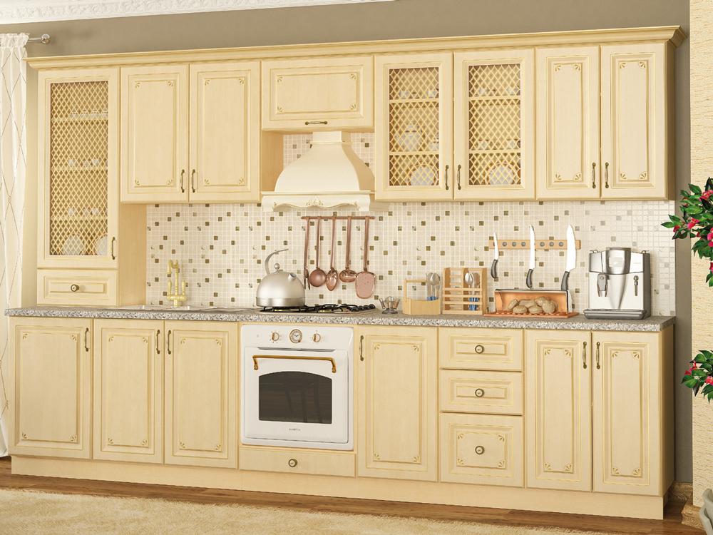 Кухня прямая «Гранд» 3,3м