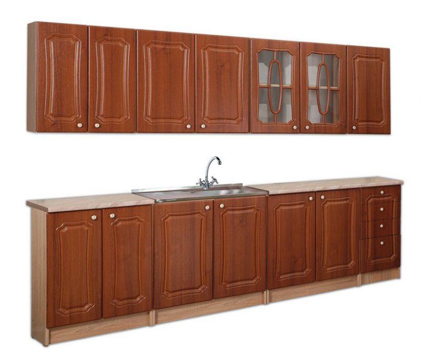 Кухня прямая «Алина» 2,6м