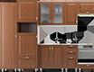 Пеналы и шкафы кухонные