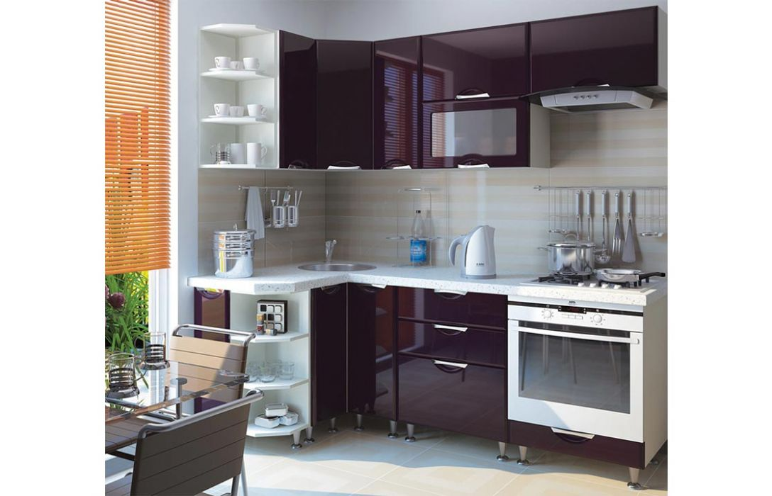 Кухня угловая «Люкс 3,3м» Сокме