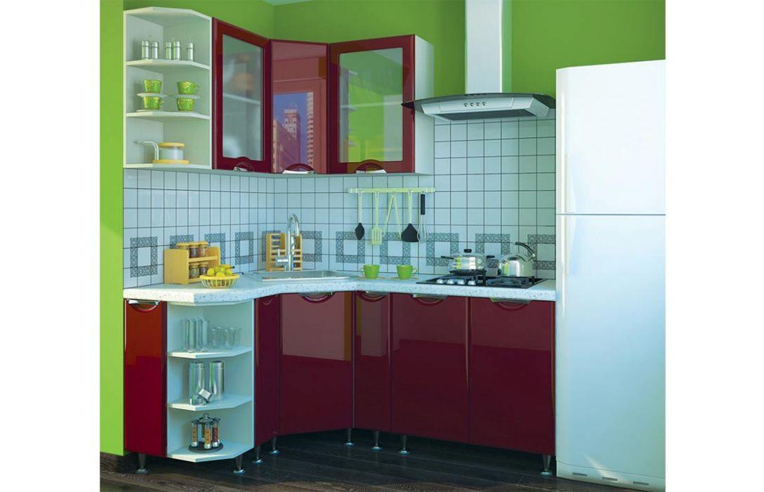 Кухня угловая «Люкс 3,2м» Сокме