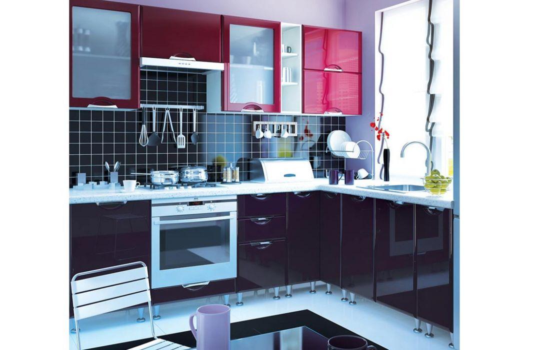 Кухня угловая «Люкс 4,4м» Сокме