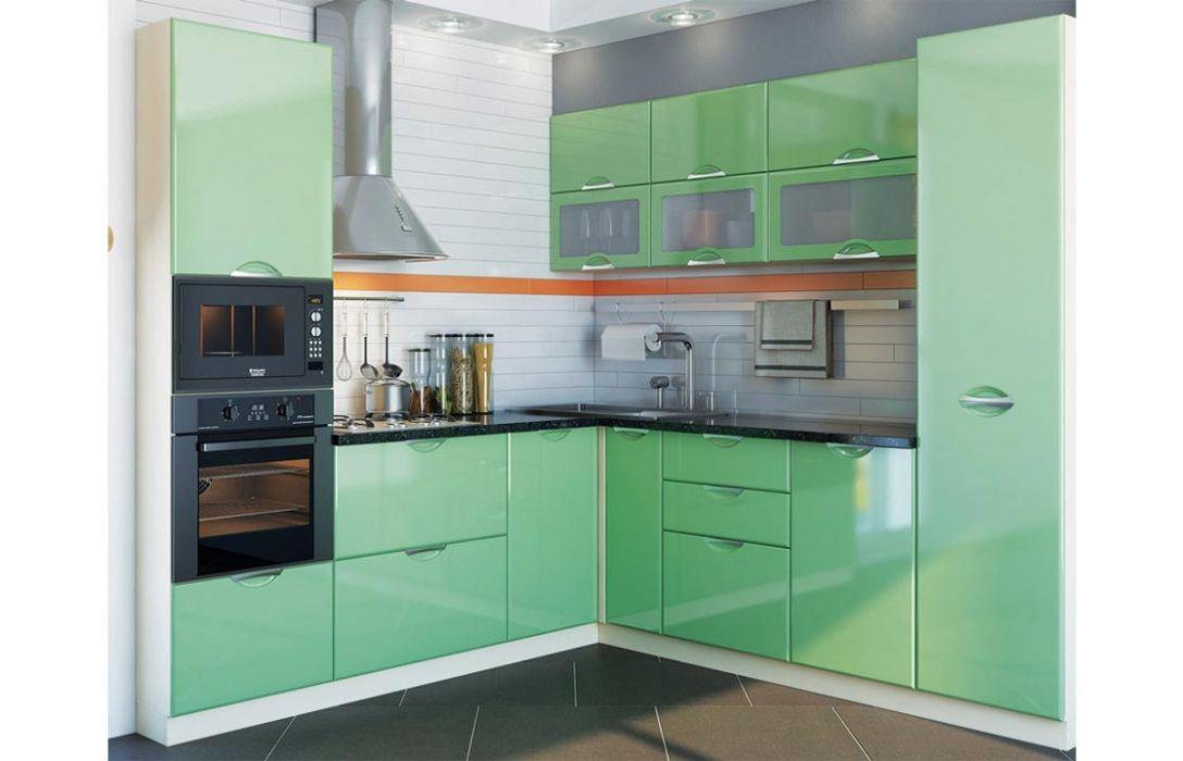 Кухня угловая «Люкс 5,1м» Сокме
