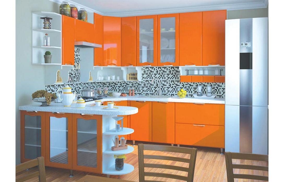 Кухня угловая «Люкс 5,7м» Сокме