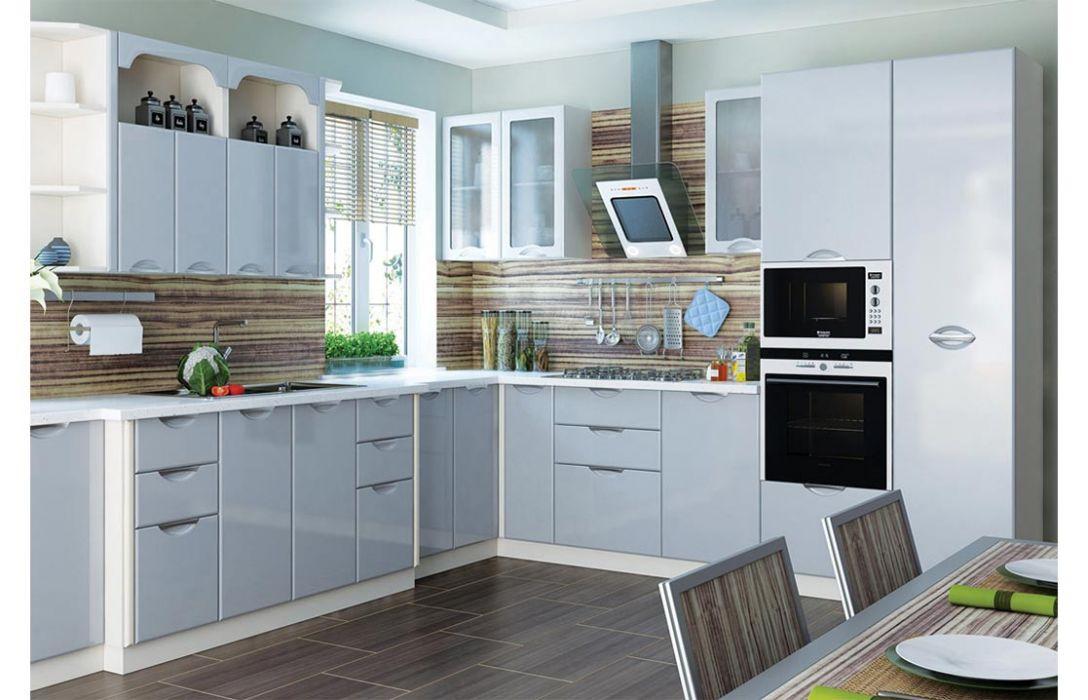 Кухня угловая «Люкс 6,4м» Сокме