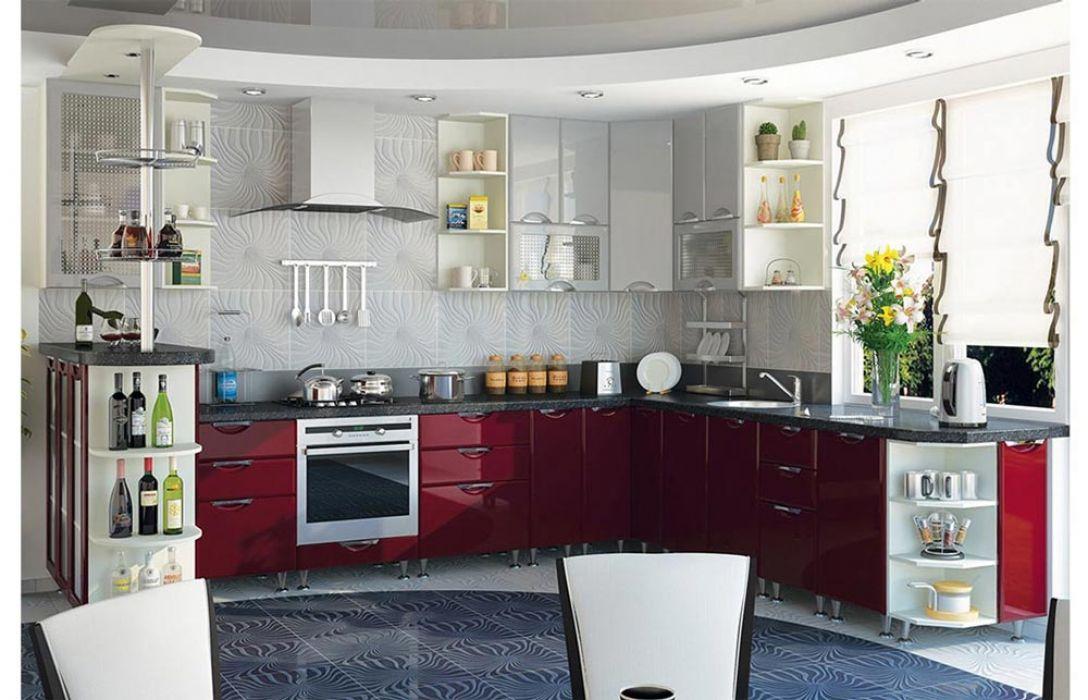 Кухня угловая «Люкс 7м» Сокме
